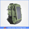 fashional solar sports backbag with 6.5w solar panel for mobile phone recharger
