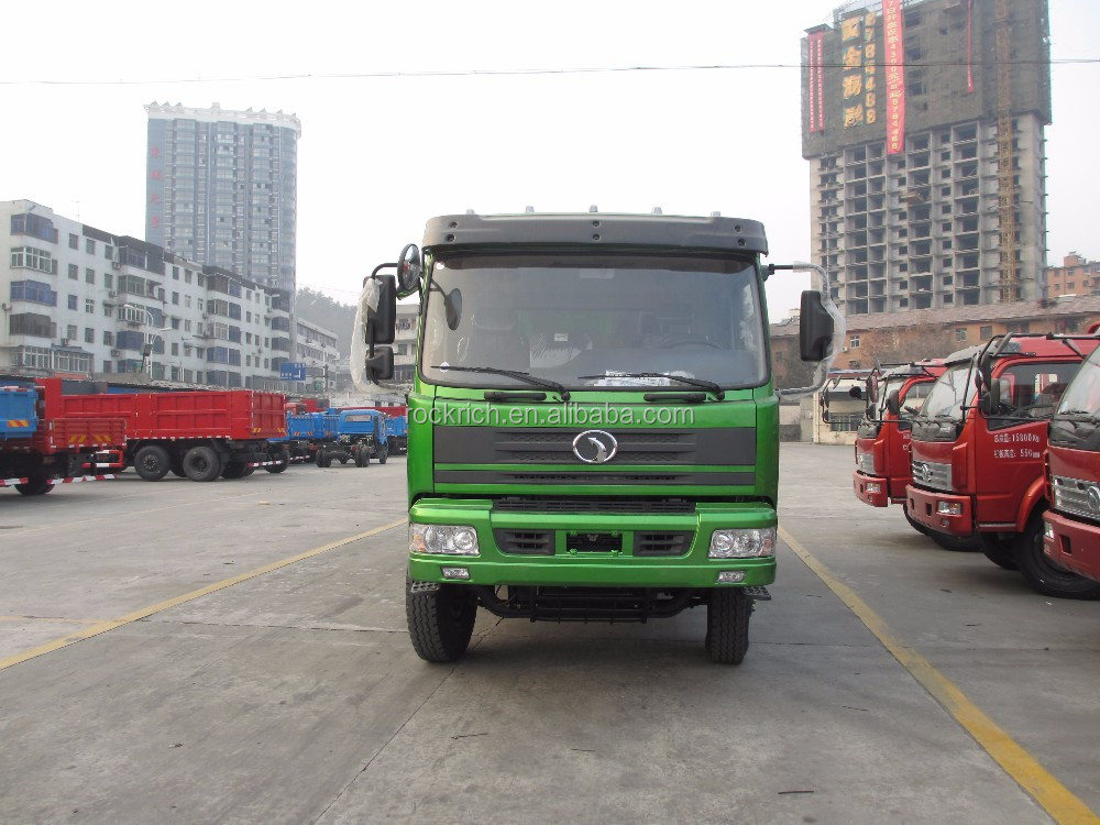 2 Axle Truck : Rear axle dump truck horsepower ton new lorry