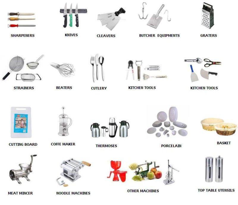 Professional Kitchen Utensils