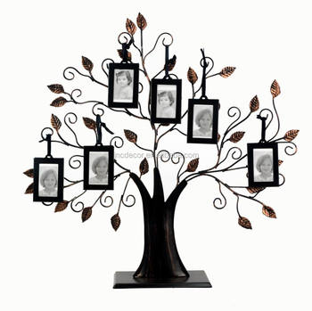 Metal Family Tree Photo Frame Buy Metal Family Tree Photo Frame