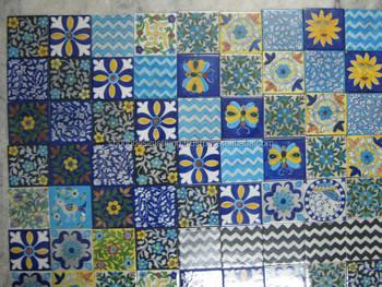 buy exclusive jaipuri blue pottery ceramic tiles online shop