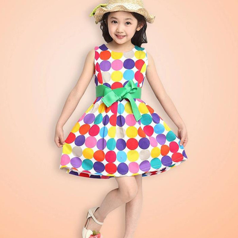 92791c87ff4e3 2014 Limited Seconds Kill Bow Free Shipping 1pcs Retail 3~11age Cotton  Woven Navy/white Cute Knee Length Princess Girl Dress - Unfair Weight