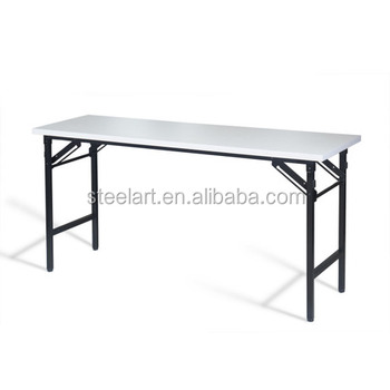 Modern Design Metal Library Table Kids Study Folding Table Set Furniture