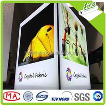 China textile facory produced digital printing textile smooth crystal fabric for LED display