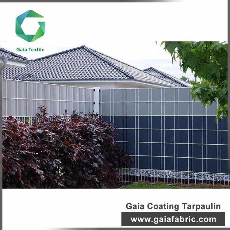 450g pvc strip screen fence tarpaulin for privacy garden, Hause deko