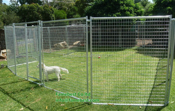 Large Pet Enclosure Dog Kennel Run Animal Fencing Sheep