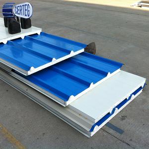PU sandwich panel price/kingspan insulated panel/roof sandwich panel price