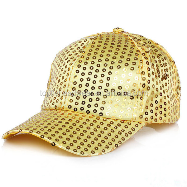 Kids Size Bling Bling Hats Mesh Fabric Sequins Baseball Cap - Buy ... 6fa97f375ab