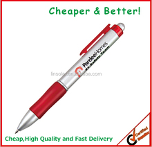 Best sellers Logo printed Promotional Plastic Blank pen for print