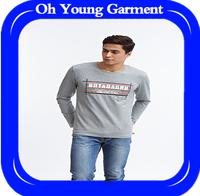 New T-shirt fashion trend men's big code comfortable t-shirt new autumn