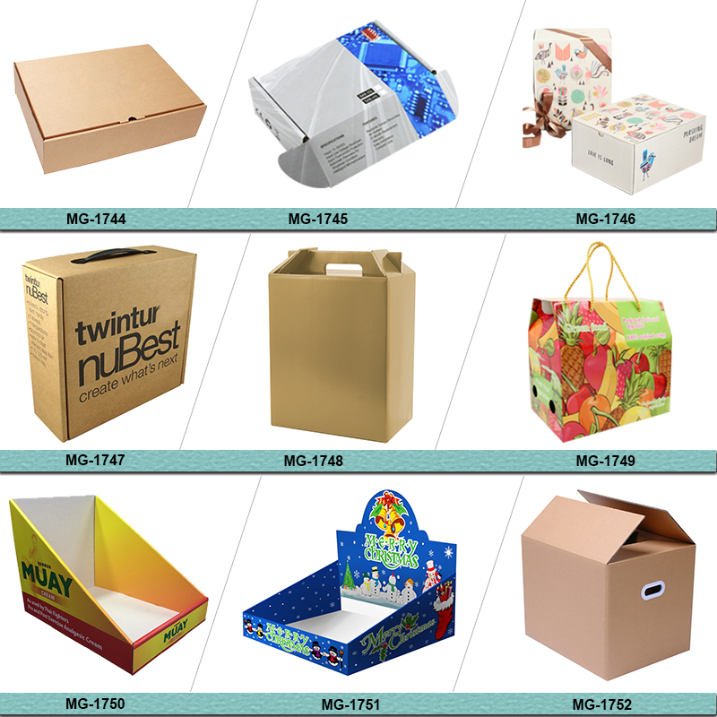 Chinese Supplier Custom Branded Both Sides Printing Corrugated Facet Cosmetics Lotion Subscription Mailing Beauty Box