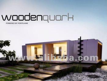 Modulaire maisons en bois buy maisons en bois product on - Maison bloc modulaire ...