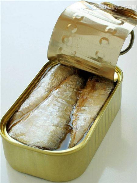 Canned Sardine In Water And Salt
