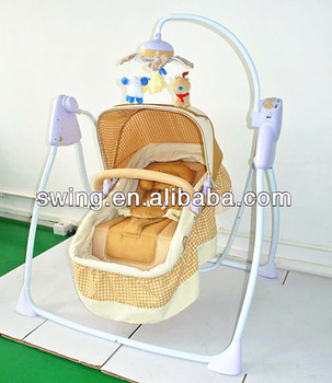 baby electric swing bed/europe baby cot bed/swing bed with canopywith & Baby Electric Swing Bed/europe Baby Cot Bed/swing Bed With Canopy ...