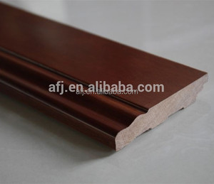 2015 popular floor baseboard solid wood