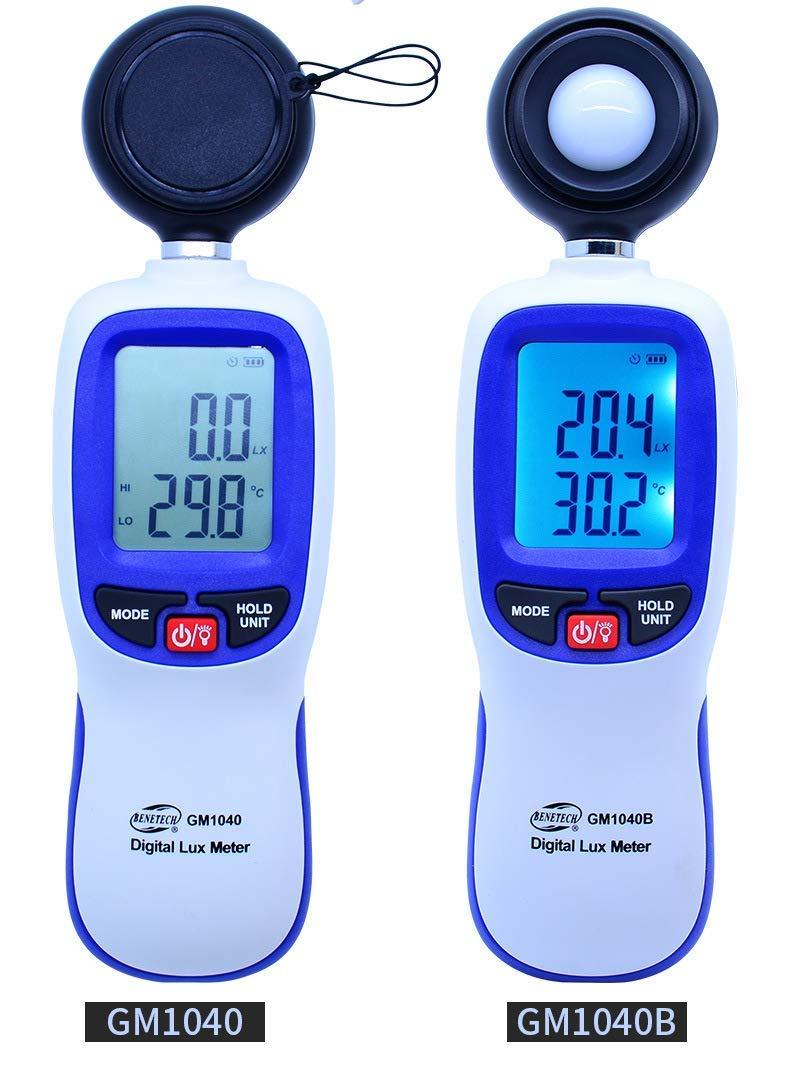 Illuminance Meter Photometer high-Precision illuminance Meter Brightness Meter Brightness Tester Pocket Type Handheld GM1040