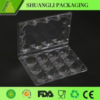 12 holes biodegradable recycled quail egg cartons for sale