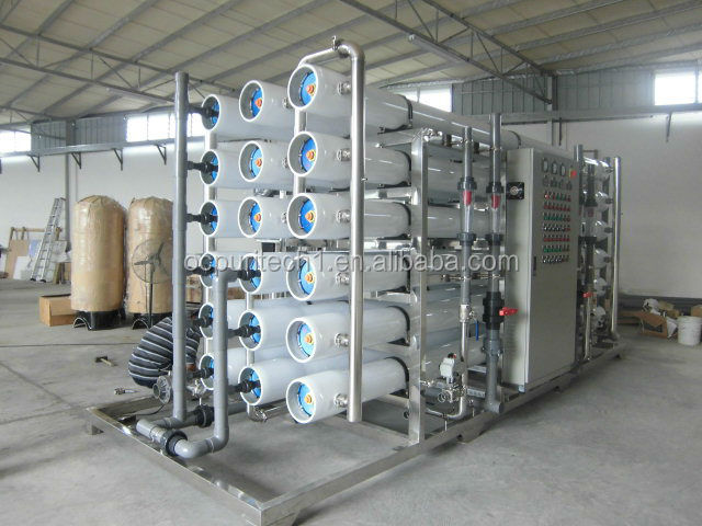 Large Scale industrial ro plant recycling 70Ton Per Hour water treatment equipment