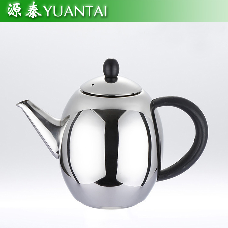 hot sale stainless steel silver water kettle with filter/ portable tea pot/water jug with infuser