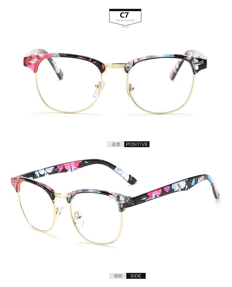 Hot Sale New Designer Round Men Glasses Retro Fashion ...
