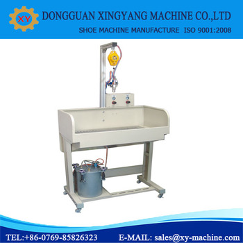 Automatic Water Base Glue Spray Machine For Shoes Machine