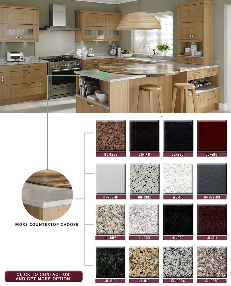Chinese Suppliers Red Or Blue Color Combinations Kitchen