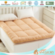 Massage Mattress Topper Binding Edge Hotel Hollowfiber Topper with Quilted Boxes