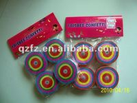 frisbee confetti party favor ,party supplies