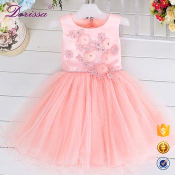 8319c3e96b59 Sequin Fabric Bow Sash Tulle Baby Children Kids Girl Party Dress ...