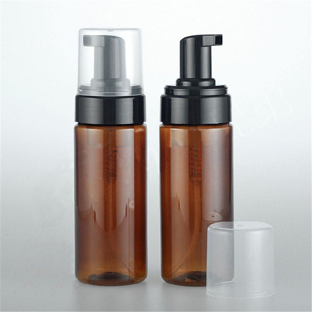 Eco Friendly Packaging 50ml 100ml 150ml 200ml PET Frosted Cosmetic Foaming Foamer Pump Packaging Bottles With Foam Pump