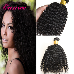 Raw Virgin Human Hair Kinky Curly Passion Hair Bulk For Wig Making