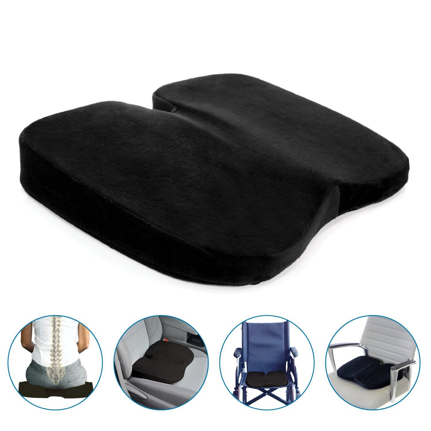 pillow product buy sos free seat coccyx gel size cushion