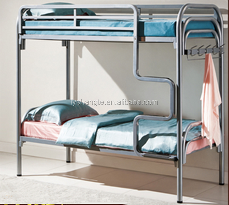 2015 new design hotel metal bed frame without mattress