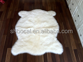 2017 Premium Soft Plush Faux Fur Rugs For Living Room