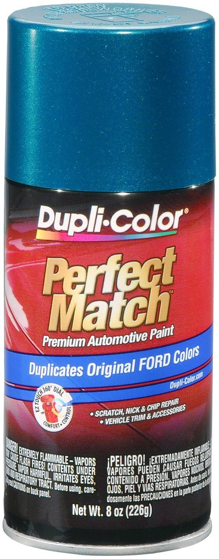 Dupli-Color BFM0328 Cayman Green Metallic Ford Exact-Match Automotive Paint - 8 oz. Aerosol