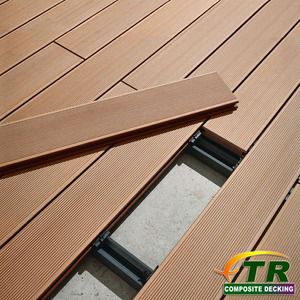 High Quality Anti UV Luxury WPC Decking