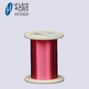self bonding polyurethane red color enameled copper magnet wire