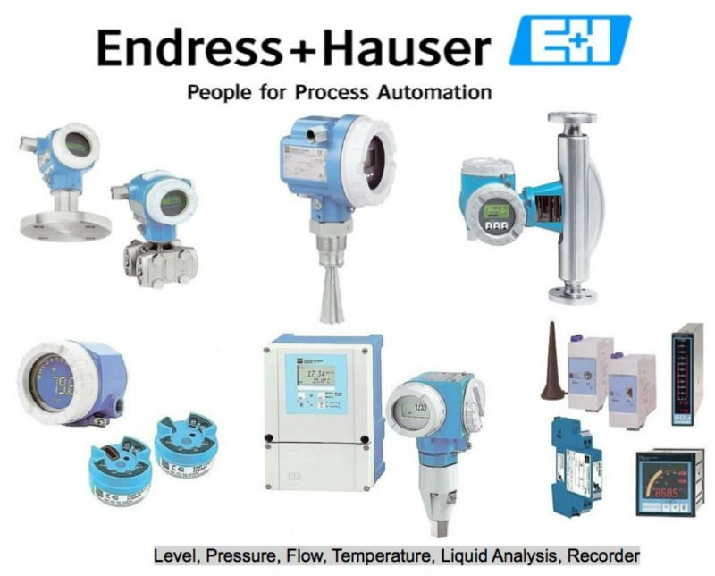 Endress & Hauser -- E+H Instrumentation Products