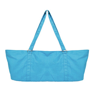 Large gym canvas tote bag for yoga 50e54f169fb5d