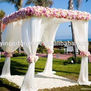 Wedding Decoration Stage Backdrops White