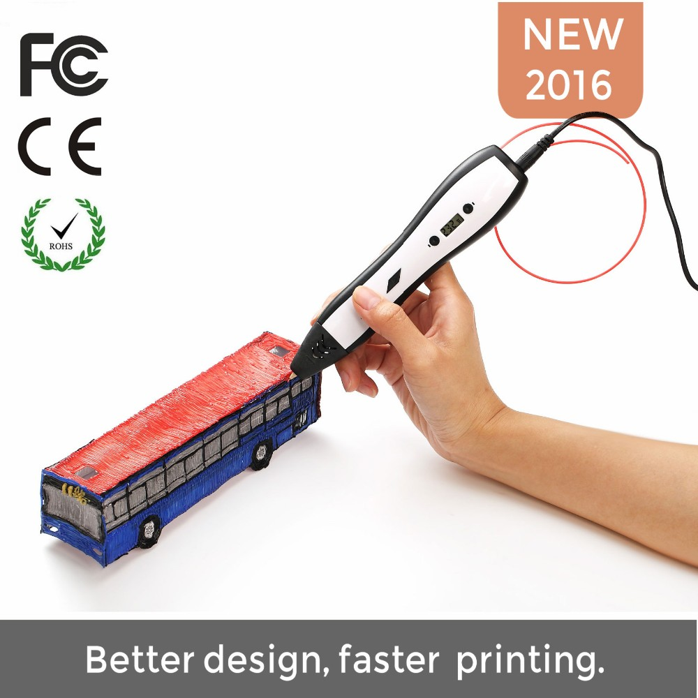 Hot Sale 3D Pen Printer With LCD Display