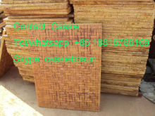 Best price recycle carrier bamboo/PVC pallet and plywood pallet for concrete,cement block small scale industries china supplier
