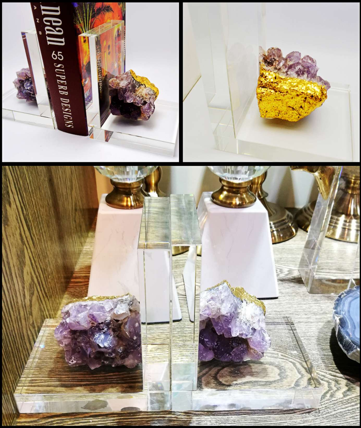 Crystal Bookend