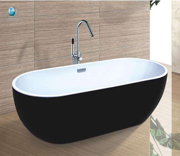 Black And White Chinese Soaking Tub For Resort Use - Buy Chinese ...