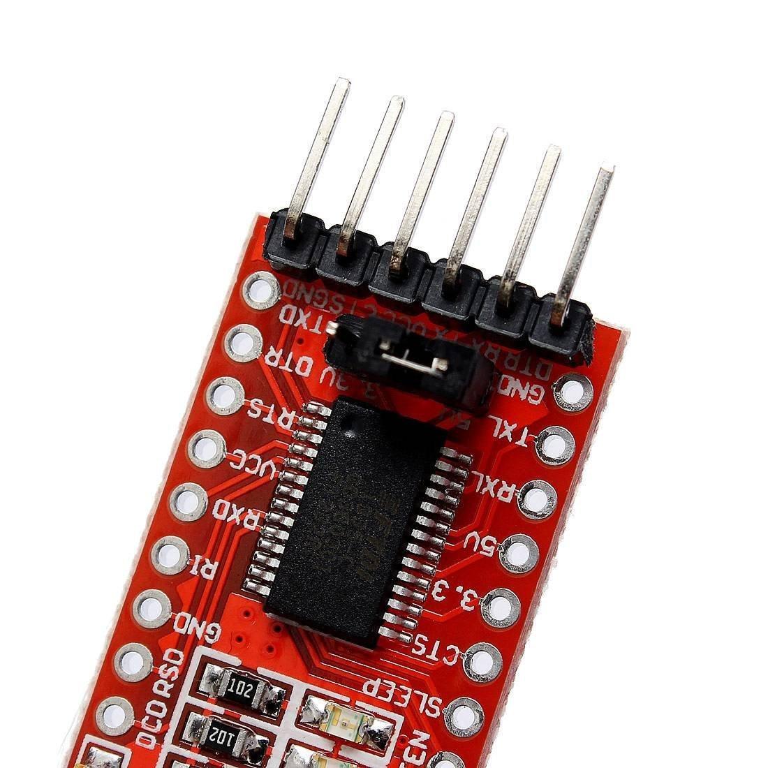 1X NEW FT232RL 3.3V 5.5V FTDI USB to TTL Serial Adapter Module for Arduino Mini