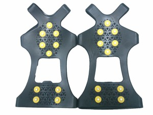 Hottest Popular Anti-slip Ice crampon Snow Shoe Cover , Ice crampon For Shoe Covers,Silicone Ice crampon For Winter