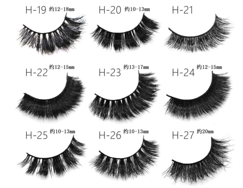 cheap wholesale mink alshes 3d, fake eyelashes,Suit For eyelash box