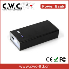 Wholesale high quality Rohs protable wireless power bank 5200mAh for mobile