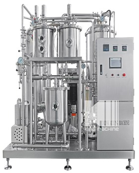 Carbon dioxide beverage mixer