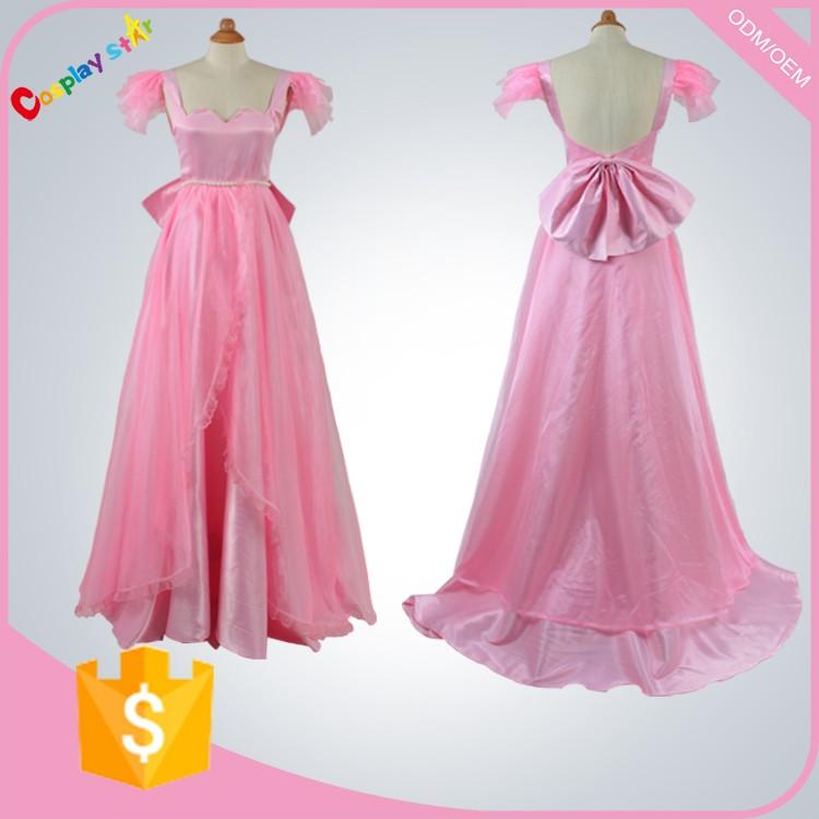 Маленькая леди розовое платье